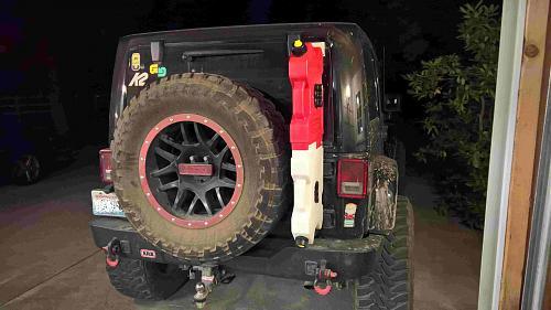 Jeep Sahara 2014 >> New TeraFlex Tire Carrier Accessories Holder
